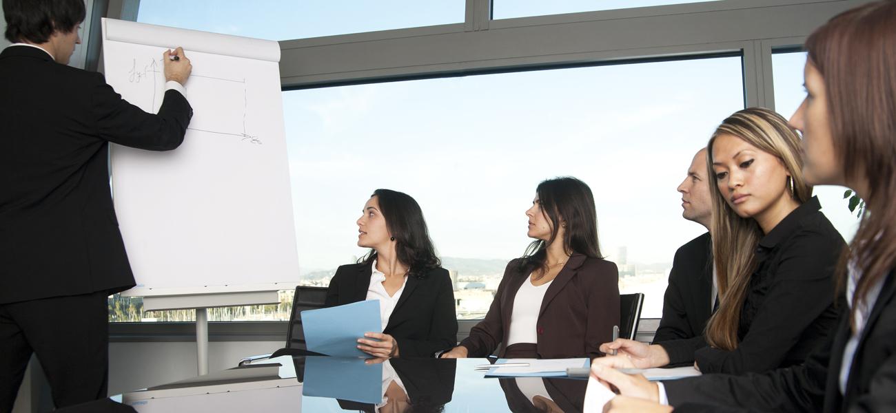 flip chart meeting